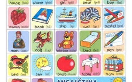 Pexeso - Angličtina pro děti 2 - dodání do 2 dnů