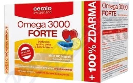 Cemio Omega 3000 Forte s citrusem tbl.120