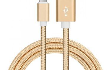 Pletený kabel pro iPhone typu Lightning - různé barvy a délky
