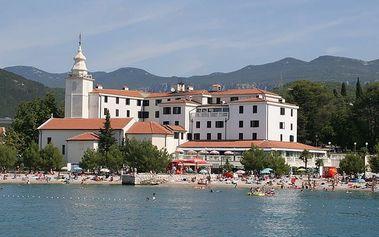 Chorvatsko - Crikvenica na 8 až 10 dní, polopenze nebo snídaně s dopravou autobusem nebo vlastní