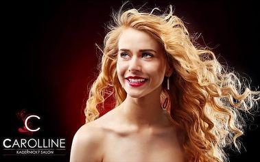 Perfektní kadeřnická péče pro dámy v salonu Carolline v Praze