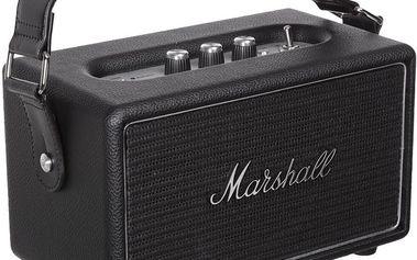 Marshall KilBurn Steel, přenosné, bezdrátové, černá - 04091395