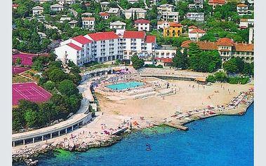 Chorvatsko - Kvarner na 8 až 10 dní, plná penze nebo polopenze s dopravou autobusem nebo vlastní
