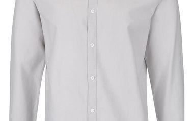 Světle šedá košile Jack & Jones Weel