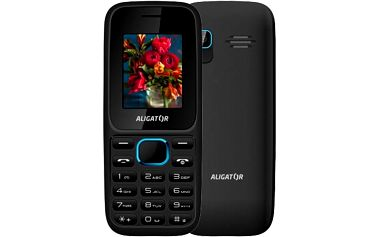 Aligator D200, černo/modrý - AD200BB
