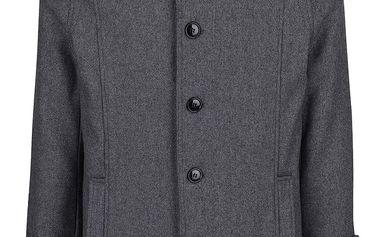 Tmavě kabát s příměsí vlny Selected Homme Geneve