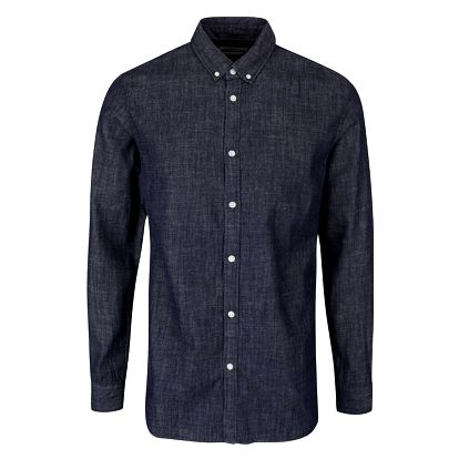 Tmavě modrá denimová košile Jack & Jones Spot