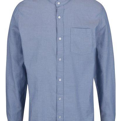 Modrá košile se stojáčkem Shine Original