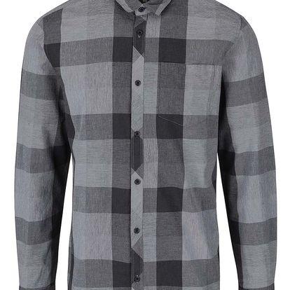 Šedo-černá kostkovaná košile Jack & Jones Smith