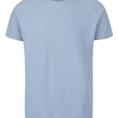 Světle modré basic triko Selected Homme Tease