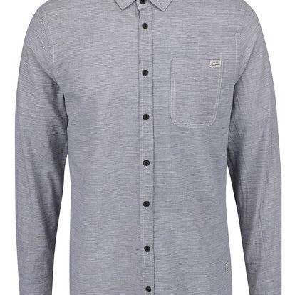 Šedá žíhaná neformální košile Blend