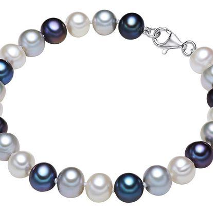 Perlový náramek Chakra Pearls Fieke,21cm