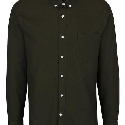 Zelená košile Burton Menswear London