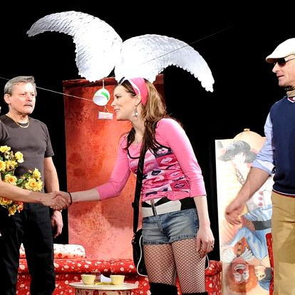 Vstupenka na komedii Herci jsou unaveni dne 2.4.2017 od 19:00 v KD Peklo v Plzni, 10-14 řada