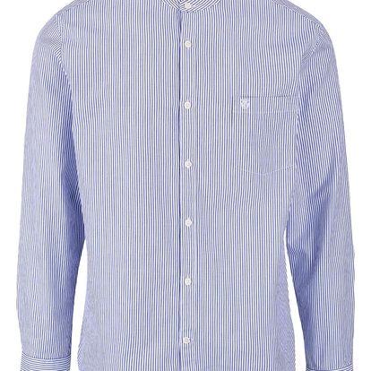 Bílo-modrá pruhovaná košile Selected Homme Two Collect