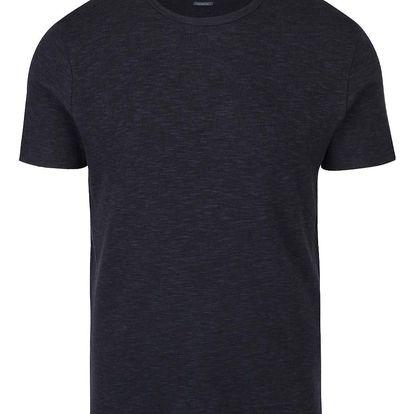 Tmavě modré žíhané triko Selected Homme Indium
