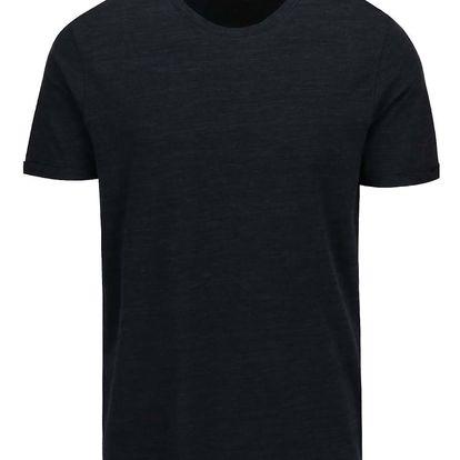 Tmavě modré žíhané triko Jack & Jones Tom