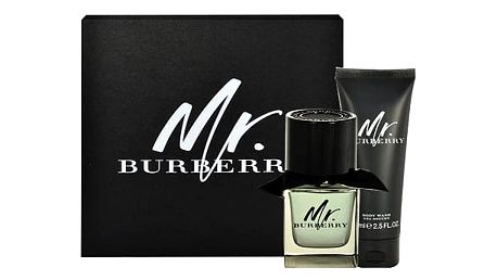 Burberry Mr. Burberry EDT dárková sada M - EDT 50 ml + sprchový gel 75 ml