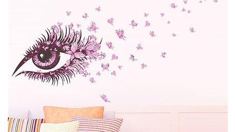 Růžové oko 65 x 135 cm