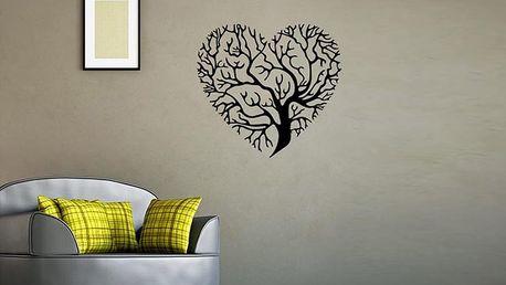 Strom ve tvaru srdce 57 x 53 cm
