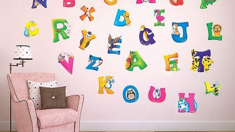 Anglická písmena pro děti 42 x 23 cm