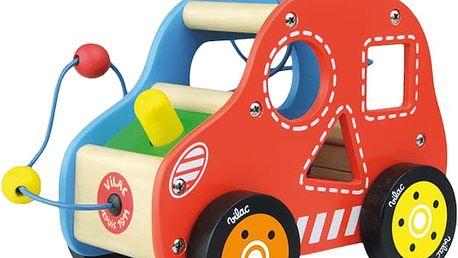 VILAC Dřevěná hračka - Dřevěné motorické auto