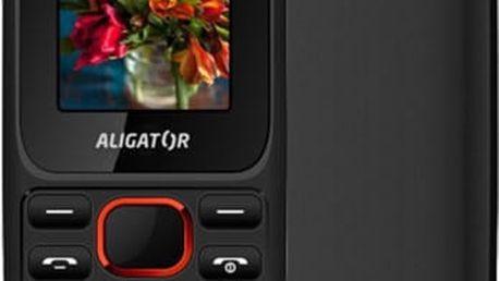 Aligator D200, černo/červená - AD200BR + Zdarma CulCharge MicroUSB kabel - přívěsek (v ceně 249,-)