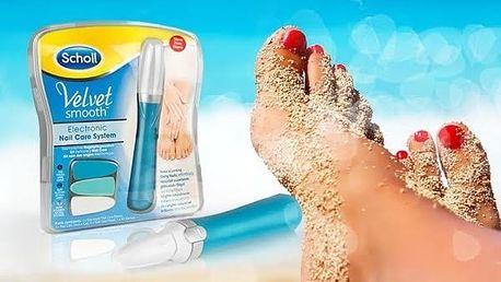 Scholl Velvet smooth - elektrický pilník na nehty