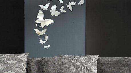 Zrcadloví motýlci 12 x 10 cm