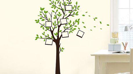Hnědý strom života 120 x 160 cm