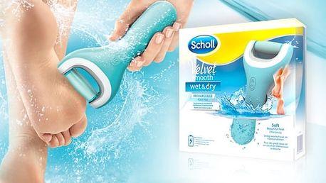 Scholl Velvet Smooth Wet & Dry - elektrický pilník na chodidla