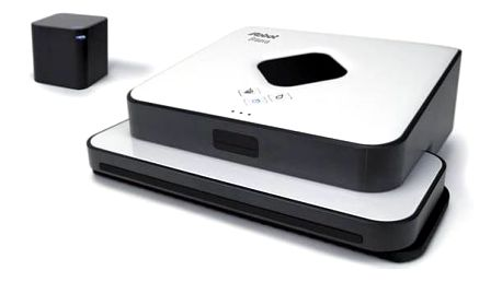 Robotický mop iRobot Braava 390 Turbo bílý + okamžitá sleva 1000 Kč! + K nákupu poukaz v hodnotě 1 000 Kč na další nákup + Doprava zdarma