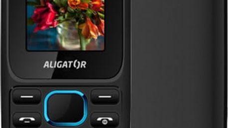 Aligator D200, černo/modrý - AD200BB + Zdarma CulCharge MicroUSB kabel - přívěsek (v ceně 249,-)