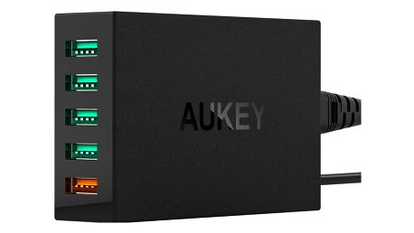 Aukey 5-Port 54W PowerAll QC 3.0 USB Charging Station - PA-T15