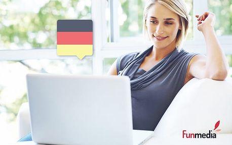 Online jazykový kurz němčiny na 1 rok - možnost vyzkoušení zdarma!