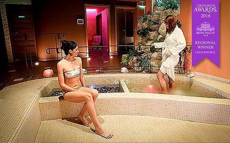2–4denní wellness pobyt s polopenzí pro 2 v hotelu Palcát v Táboře