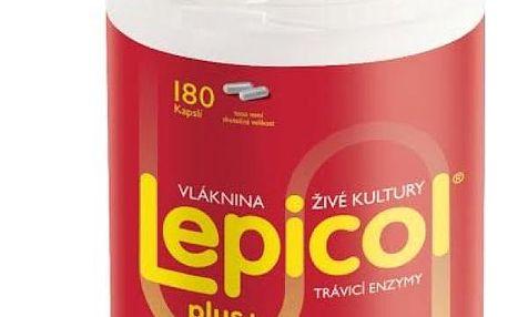 ASP Czech Lepicol Plus trávicí enzymy 180 kapslí