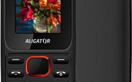 Aligator D200, černo/červená - AD200BR