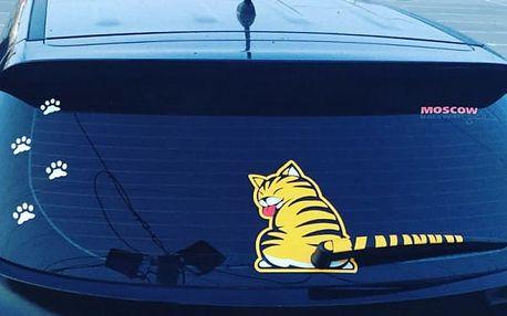 Samolepka na zadní stěrač auta - Tygřík