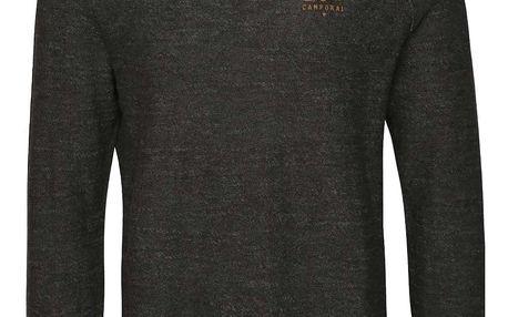 Tmavě šedý pánský svetr s.Oliver
