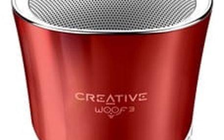Creative WOOF3, červená