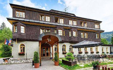 2–5denní pobyt s wellness a polopenzí pro 2 v Alpském hotelu***+ ve Špindlu