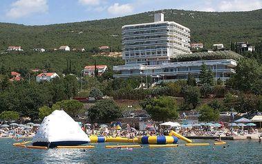 Chorvatsko - Crikvenica na 8 až 9 dní, polopenze s dopravou vlastní
