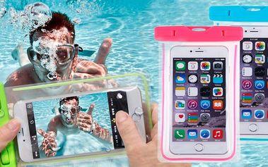 Vodotěsné pouzdro na mobil a cennosti