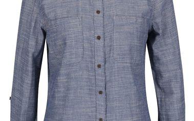 Světle modrá žíhaná košile ONLY Mahrakesh