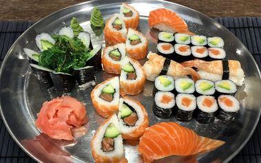 Jak chutná Japonsko: set lahodných sushi rolek