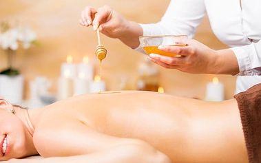 Medová nebo levandulová masáž v délce 50 minut v salonu Mamayo v Praze