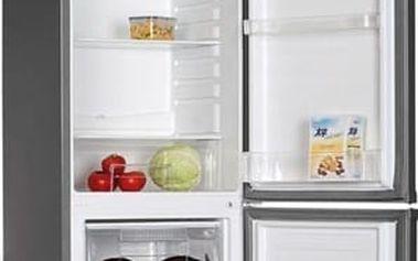 Kombinovaná lednička s mrazákem dole ECG ERB 21815 SLA+