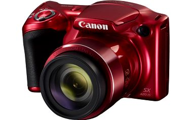 Canon PowerShot SX420 IS, červená - 1069C002AA