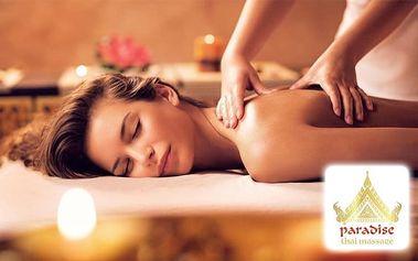 Masáž v délce 60 minut s možností využití sauny v Golden Thai Massage v Praze